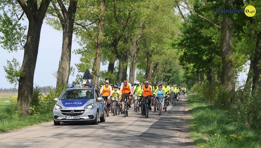 Święto 3 Maja na rowerze