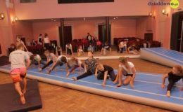 Warsztaty akrobatyczne w MDK w Działdowie