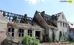 Pożar starej plebanii przy Kościele św. Wojciecha!