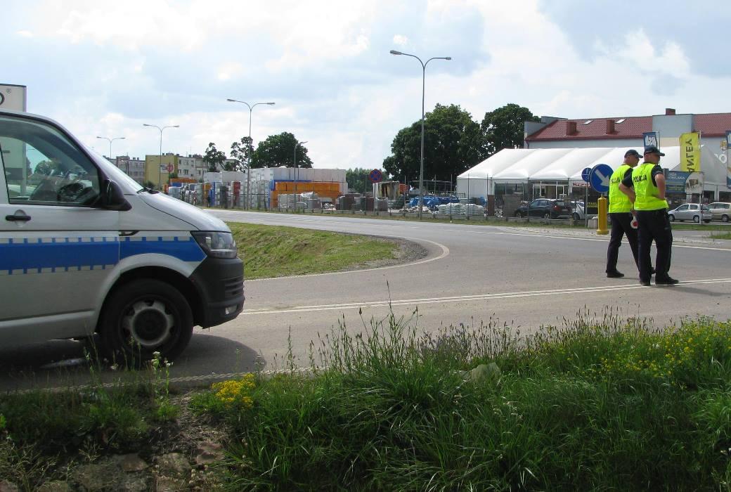 Działania prewencyjno-kontrolne na drogach powiatu działdowskiego. Dzień bezpiecznego kierowcy