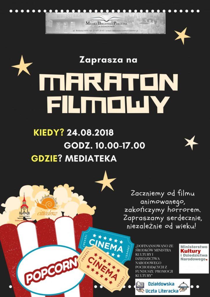 Przyjdź do biblioteki na maraton filmowy
