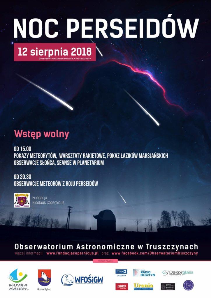 Obserwatorium w Truszczynach zaprasza na Noc Perseidów
