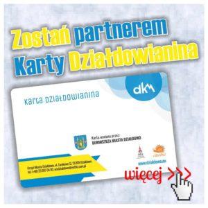 Zostań partnerem Karty Działdowianina