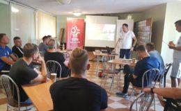 Szkolenie dla trenerów i nauczycieli W-F w ramach Mobilnej  Akademii Młodych Orłów
