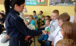 Policjanci spotkali się z uczniami