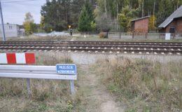 65-latek został potrącony przez pociąg. Mężczyzna zmarł w szpitalu