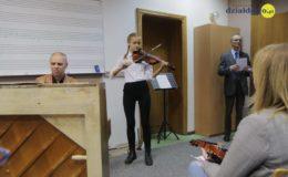 Popis uczniów klasy skrzypiec