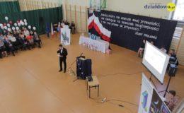 Obchody 100. rocznicy odzyskania niepodległości w Zespole Szkół Nr 1 w Działdowie [zdjęcia, film]