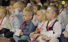 Uroczysta akademia z okazji Święta Niepodległości w Przedszkolu nr 5