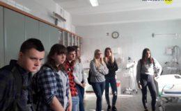 II Liceum Ogólnokształcące z wizytą na oddziale ratunkowym [zdjęcia]