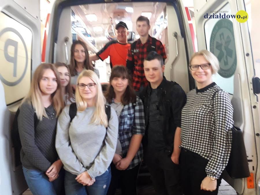 II Liceum Ogólnokształcące z wizytą na oddziale ratunkowym