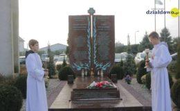 Poświęcenie symbolicznego grobu Błogosławionych Męczenników Działdowskich