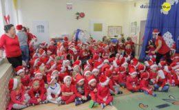 Mikołaj odwiedził przedszkolaków z Grunwaldzkiej [film, zdjęcia]