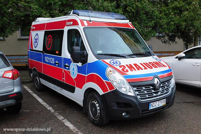 Szpital w Działdowie kupił nowy ambulans