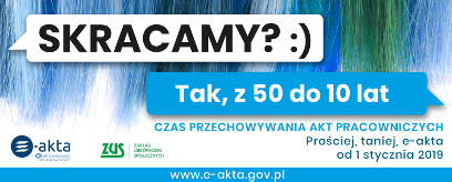 ZUS w Działdowie organizuje szkolenia stacjonarne dotyczące e-akt