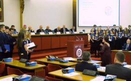 Działdowski chór śpiewał na Spotkaniu Prezydentów i Burmistrzów Miast Papieskich