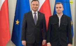 Młodzież z II LO spotkała się z Prezydentem RP Andrzejem Dudą
