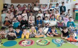 Piżamowy dzień w Przedszkolu nr 4