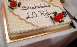 Studniówka uczniów Zespołu Szkół w Rybnie