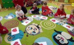Walentynki w Przedszkolu nr 4 w grupie Serduszek