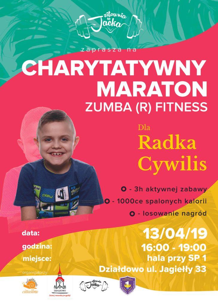 Zapraszamy na Charytatywny Maraton Zumba(r)Fitness