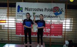 Nasze zawodniczki ósme na Mistrzostwach Polski Szkolnego Związku Sportowego