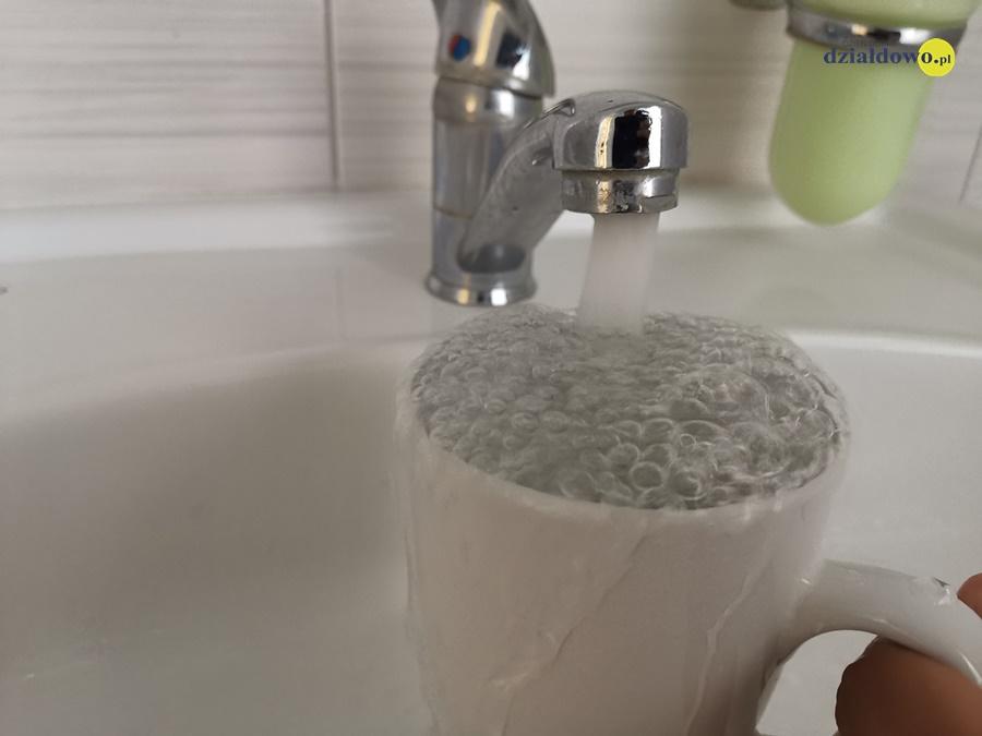 Chlorowanie wody pitnej z wodociągu publicznego w Działdowie