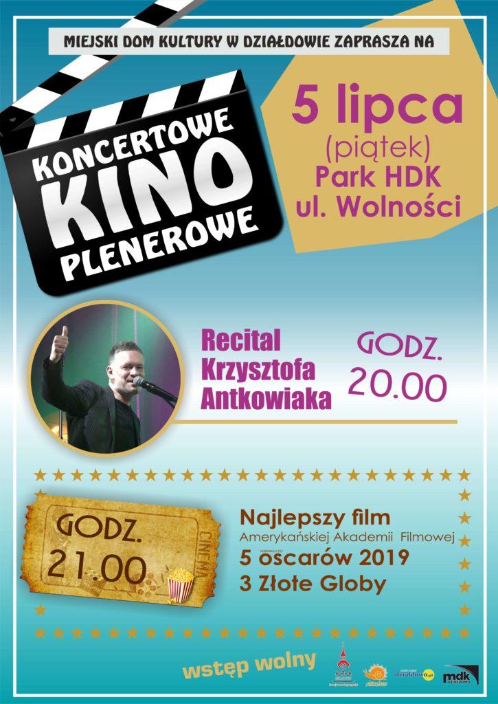 Koncertowe Kino Plenerowe. Zapraszamy 5 lipca 2019