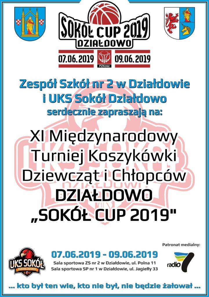 Zapraszamy do kibicowania naszym drużynom - Sokół Cup 2019