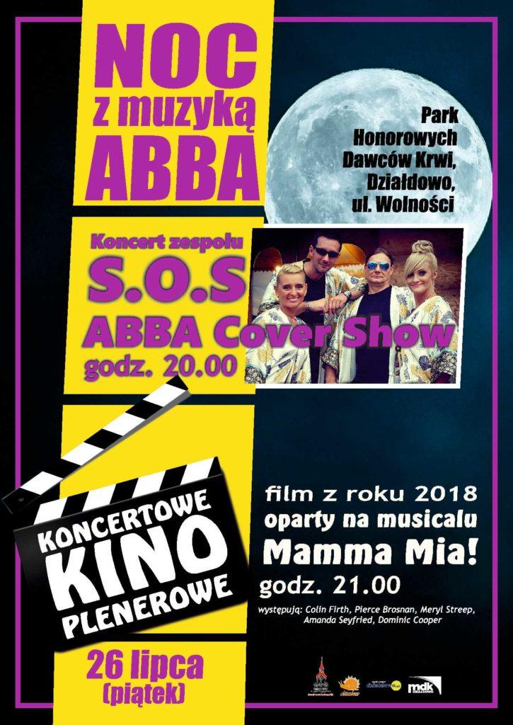 Zapraszamy na Noc z Muzyką ABBA