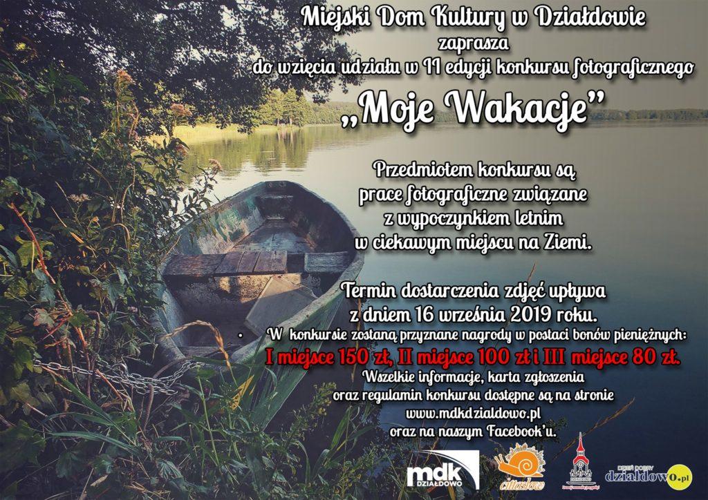 """Konkurs fotograficzny """"Moje Wakacje"""". Zapraszamy do udziału"""