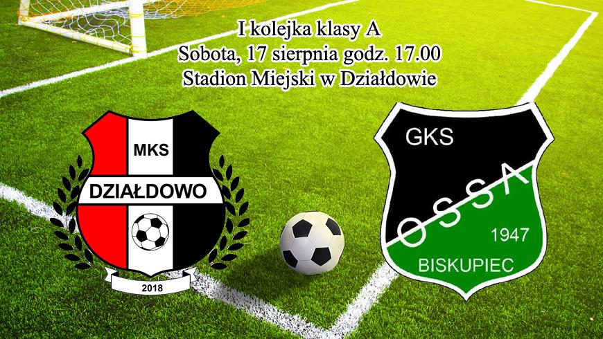 MKS Działdowo zagra pierwszy mecz w A-klasie