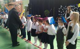 Obchody Dnia Edukacji Narodowej oraz pasowanie na ucznia w Szkole Podstawowej nr 2