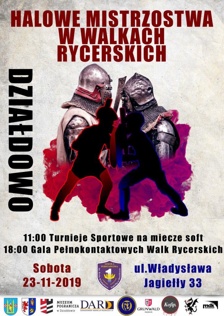 Działdowskie Bractwo Rycerskie zaprasza na Halowe Mistrzostwa Polski