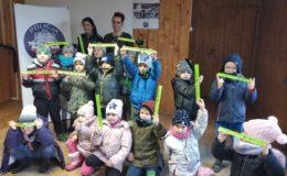 Otwarte jednostki policji - przedszkolaki z wizytą w komendzie