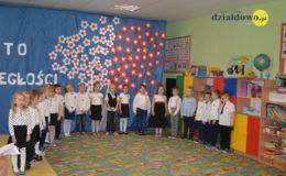 Akademia z okazji 101. rocznicy odzyskania niepodległości w Przedszkolu nr 5