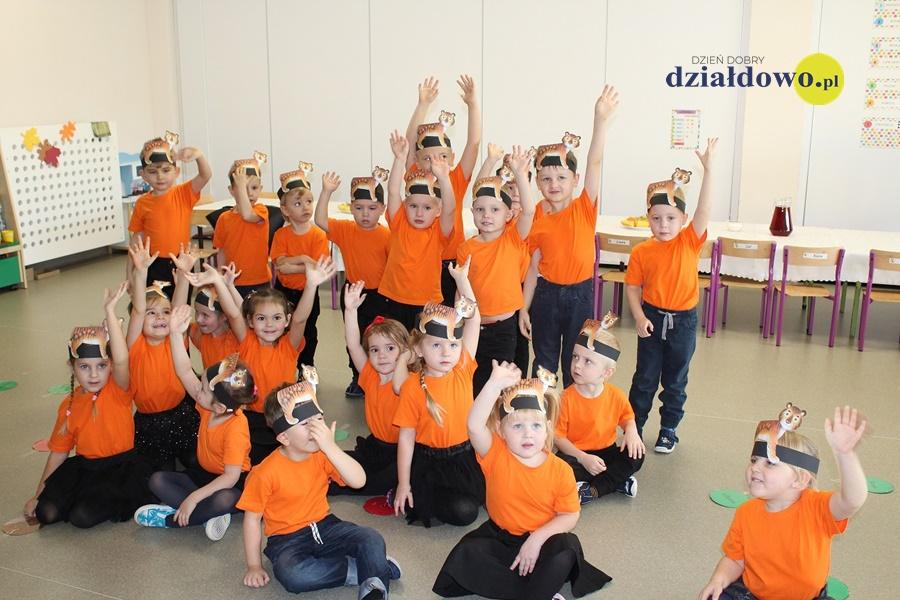 Tygryski pasowane na przedszkolaków