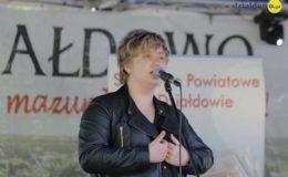 Sławomir Grzymkowski czytał wiersze Hanny Jolanty Wiśniewskiej