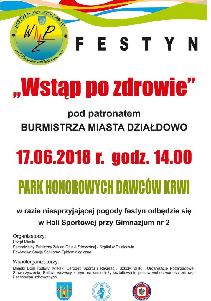 """Festyn """"Wstąp po zdrowie"""""""