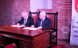 Podpisanie umowy na zagospodarowanie zamku w Działdowie