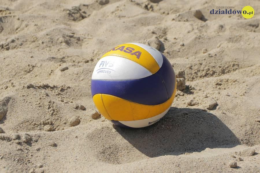 Turniej siatkówki plażowej o Puchar Dyrektora MOSiR  w Działdowie
