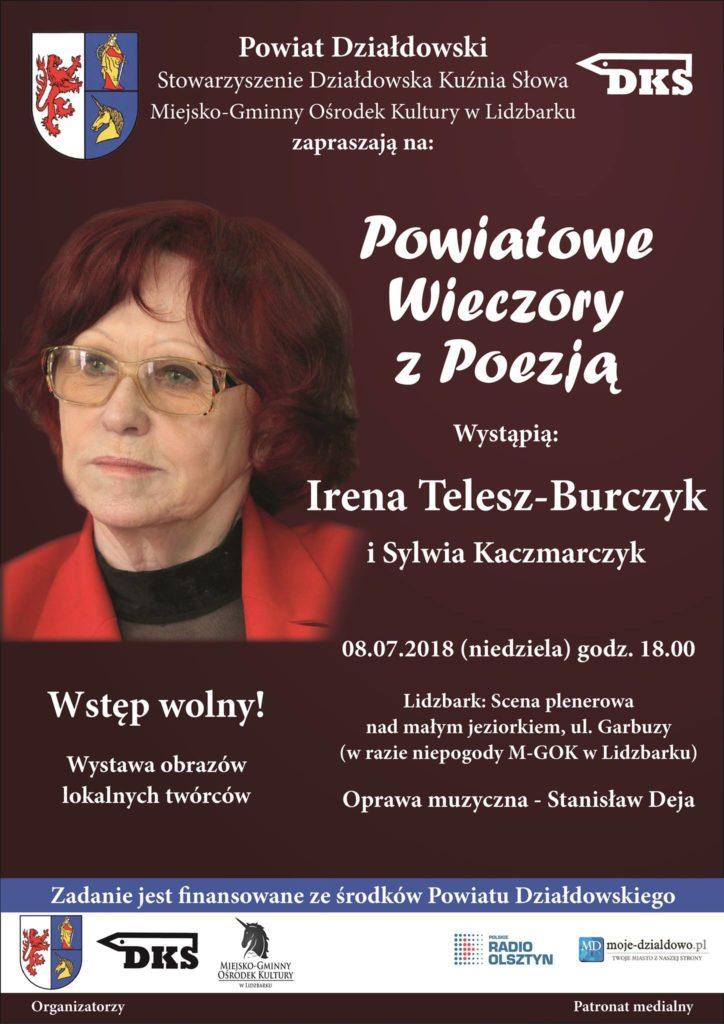 Irena Telesz-Burczyk zaprezentuje twórczość Sylwii Kaczmaczyk