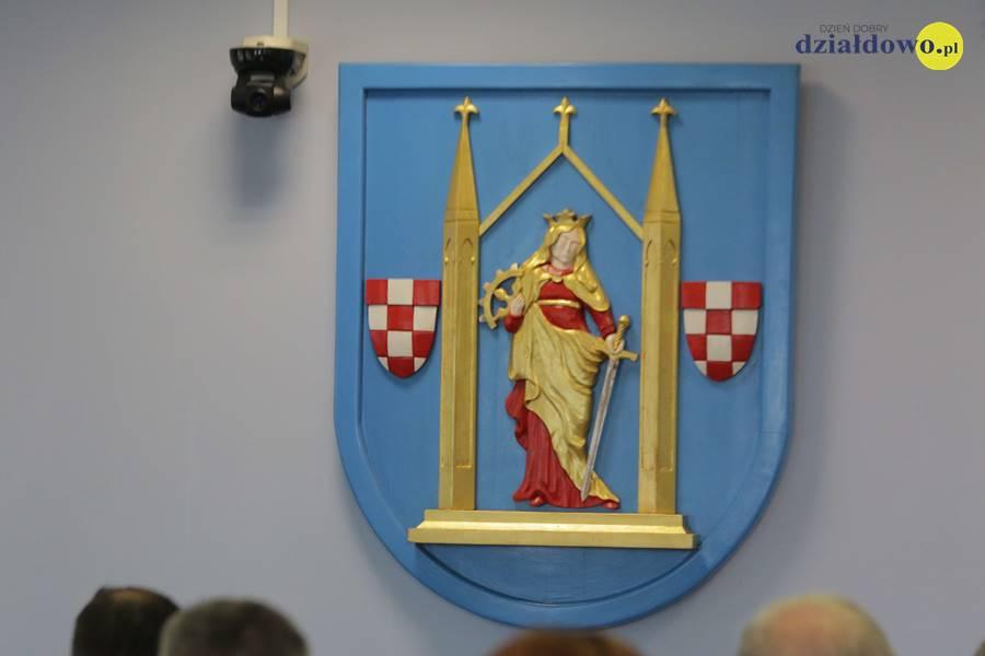 XLV – nadzwyczajnej sesji Rady Miasta Działdowo