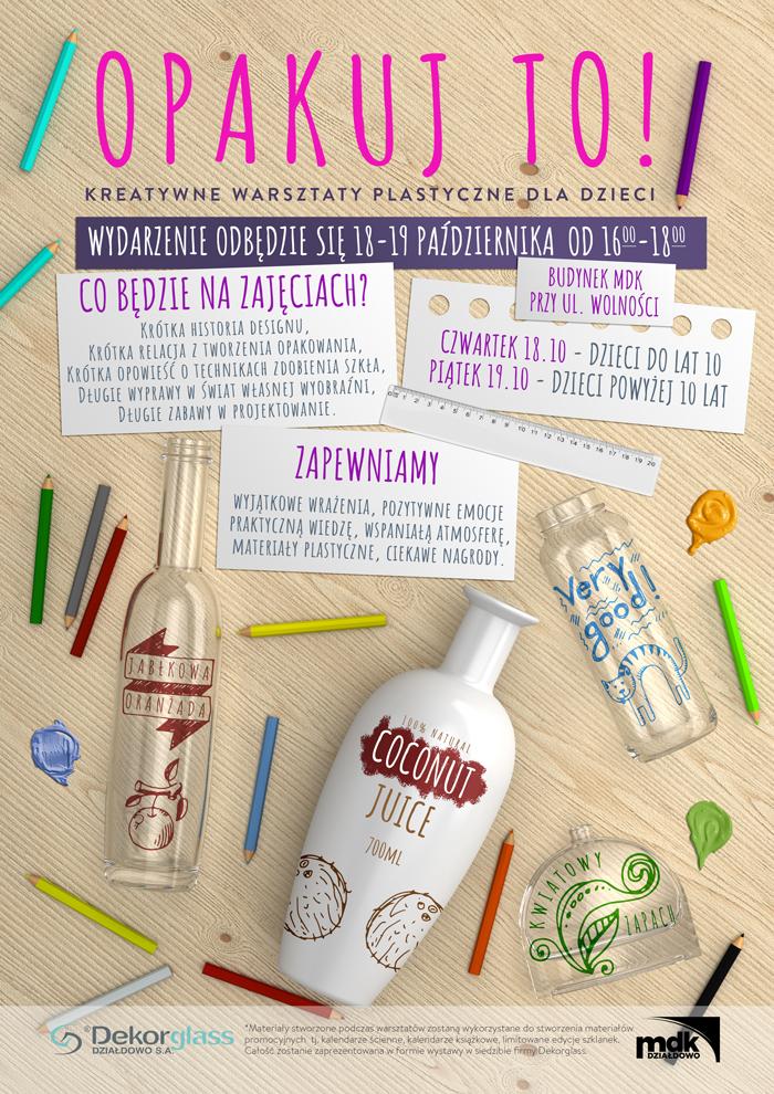 Zapraszamy na kreatywne warsztaty plastyczne dla dzieci