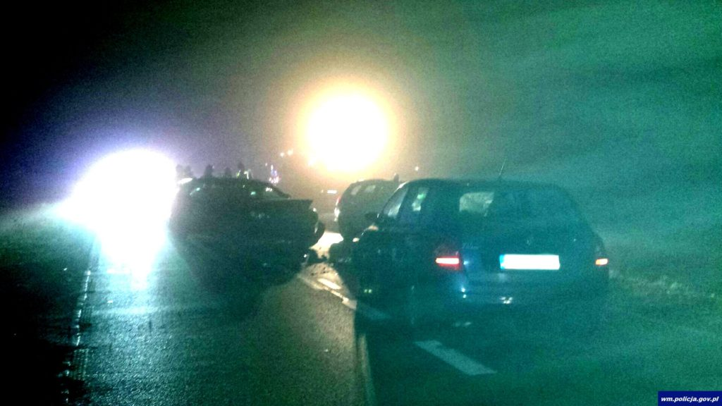 Nietrzeźwa działdowianka potrąciła policjanta na służbie