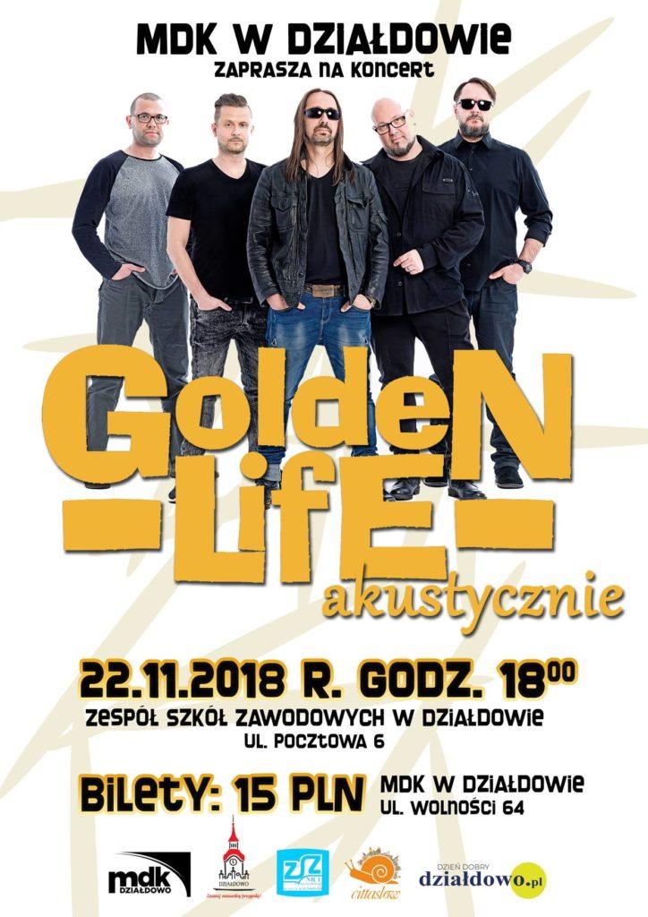 Koncert GoldeN Life Akustycznie. Zapraszamy