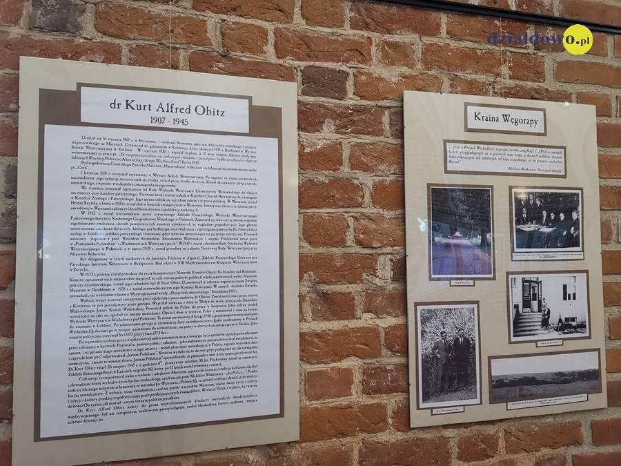 Muzeum zaprasza na wystawę poświęconą Kurtowi Alfredowi Obitzowi