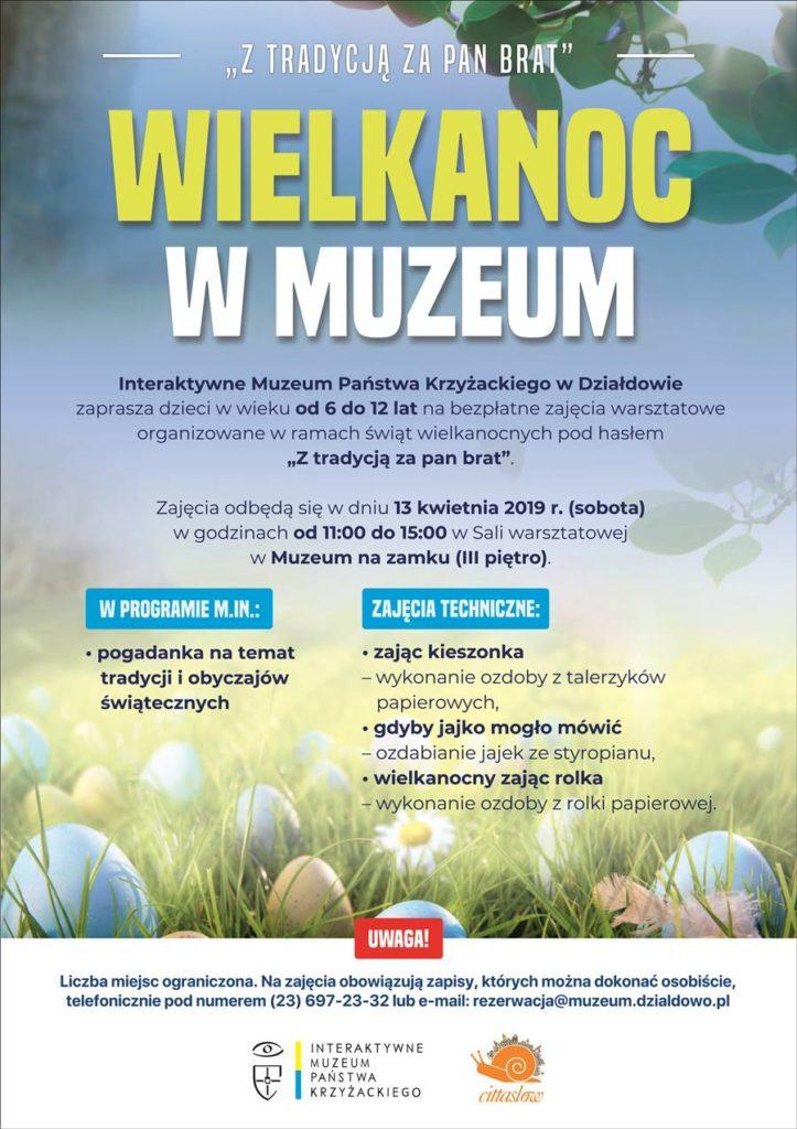 Muzeum zaprasza na zajęcia warsztatowe z okazji Świąt Wielkanocnych