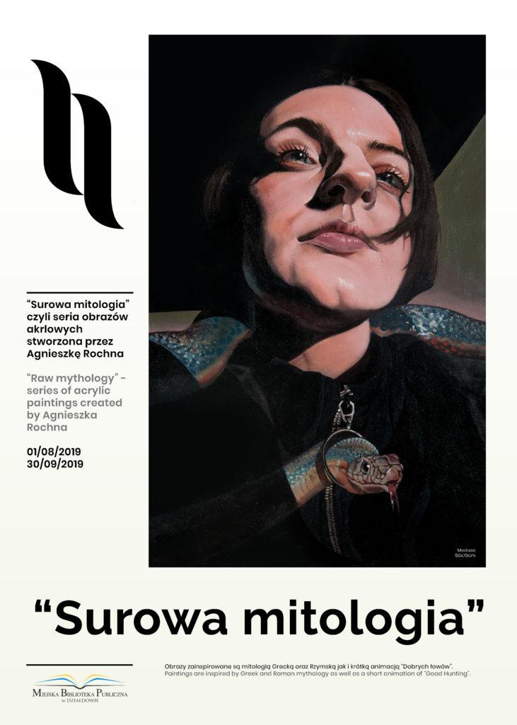 """""""Surowa mitologia"""" - nowa wystawa w Miejskiej Bibliotece Publicznej w Działdowie"""