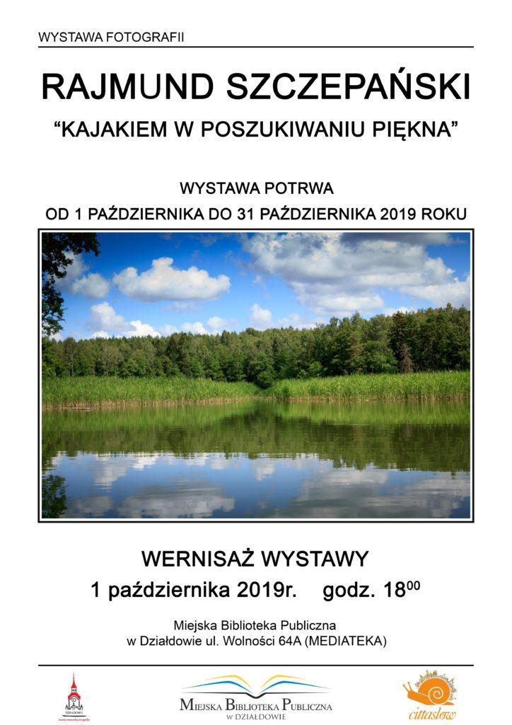 Wystawa fotograficzna Rajmunda Szczepańskiego